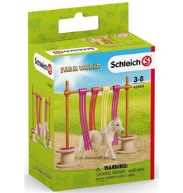 Schleich Pony Curtain Obstacle