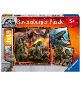 Ravensburger Jurassic World: Instinct to Hunt 3x49