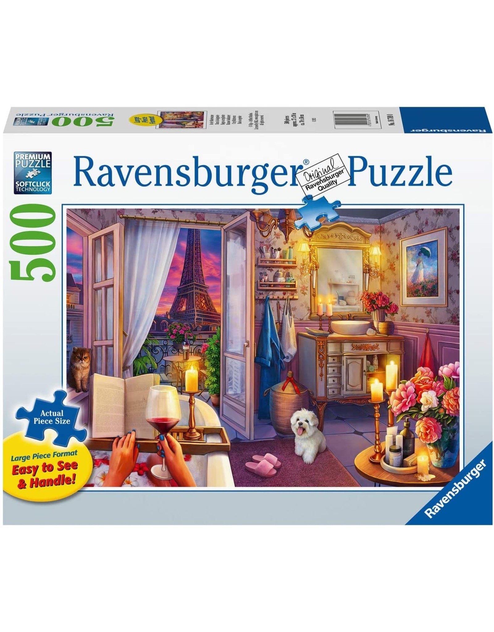 Ravensburger Cozy Bathroom 500 pc