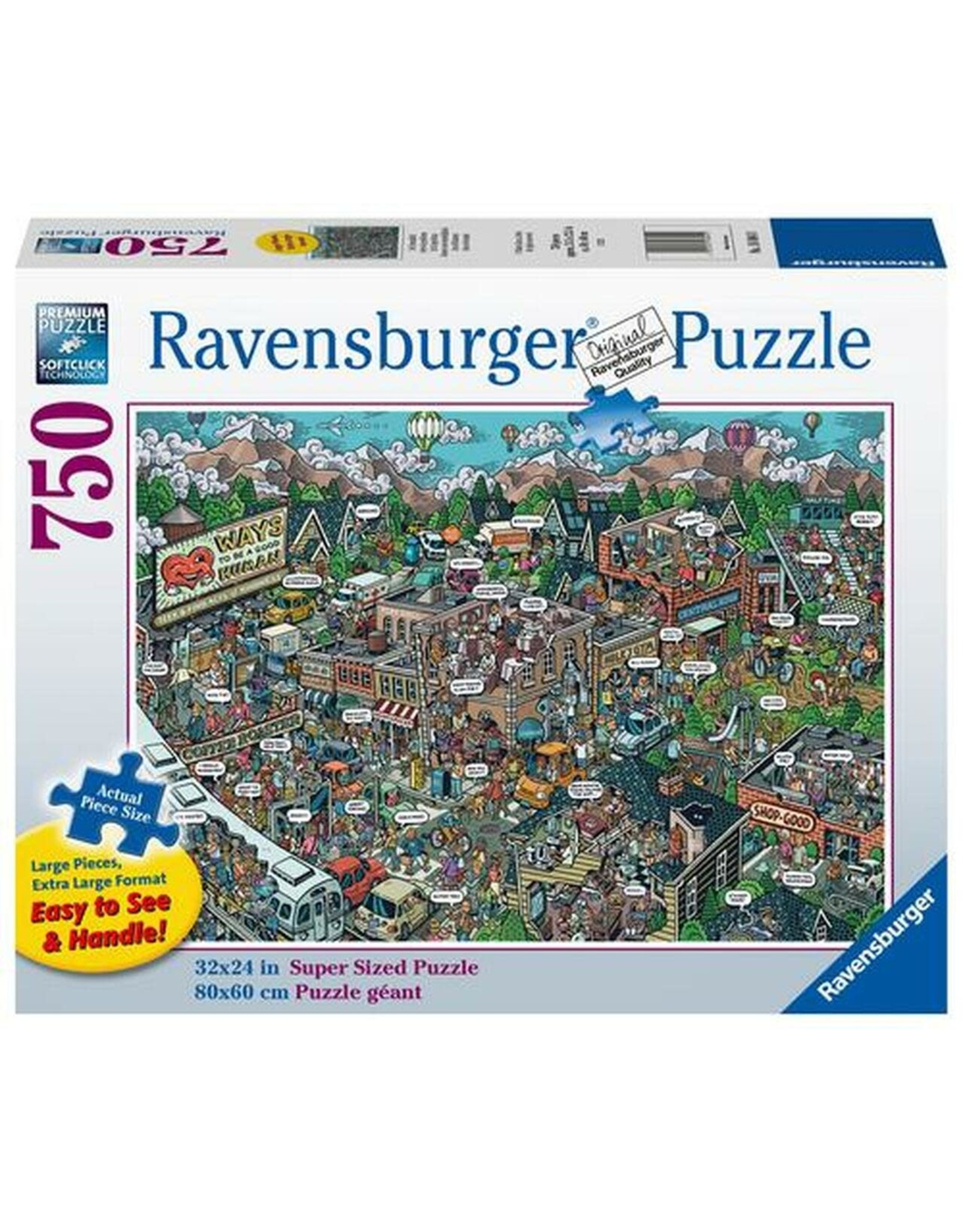 Ravensburger Acts of Kindness 750 pc
