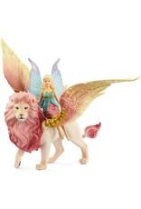 Schleich Fairy Flight on Winged Lion