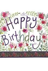 Alex Clark Art Birthday Roses Card