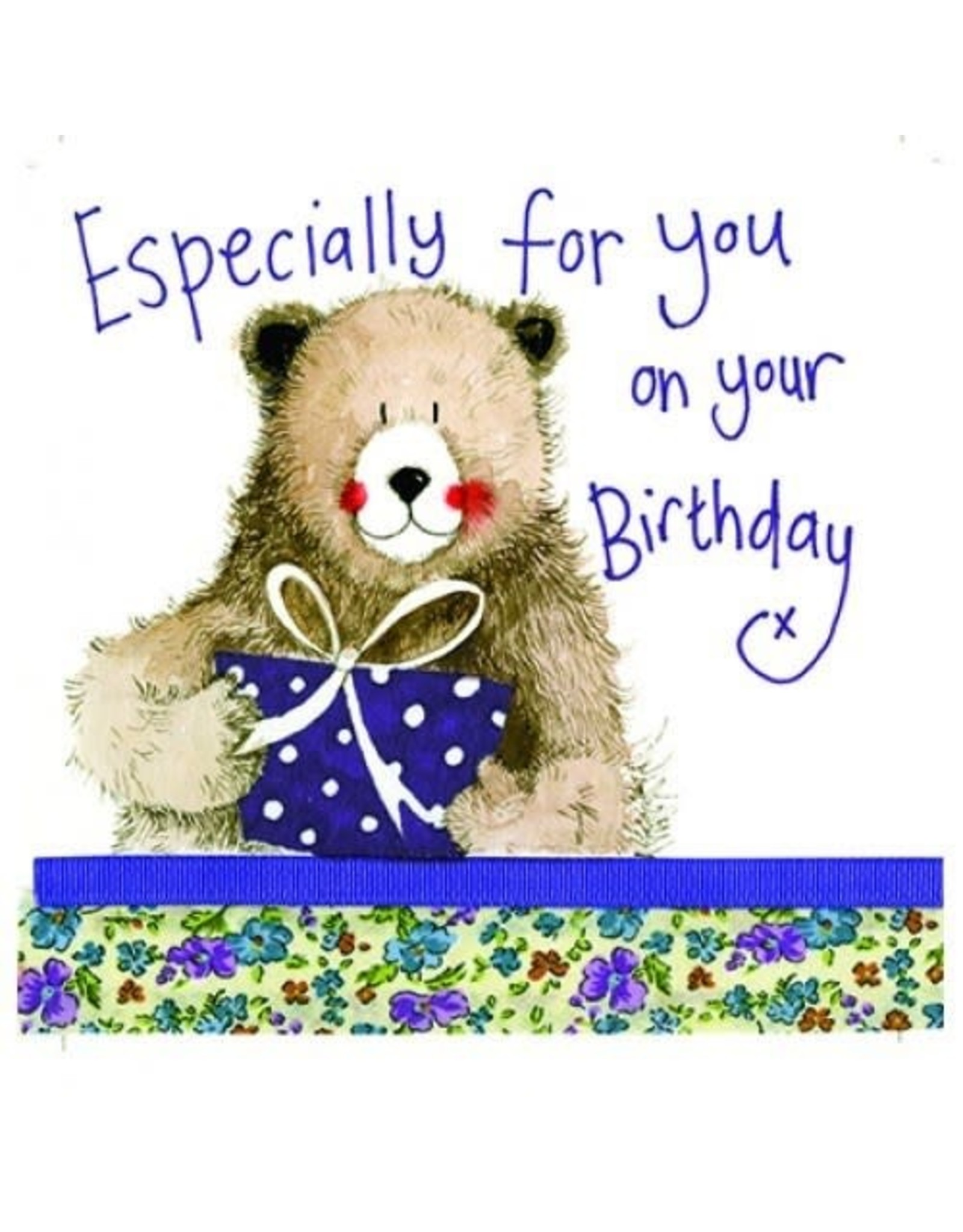 Alex Clark Art Birthday Bear Card