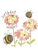 Alex Clark Art Birthday Bees Card