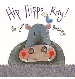Alex Clark Art Hippo Birthday Card
