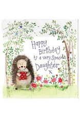 Alex Clark Art Daughter Woodland Birthday Card
