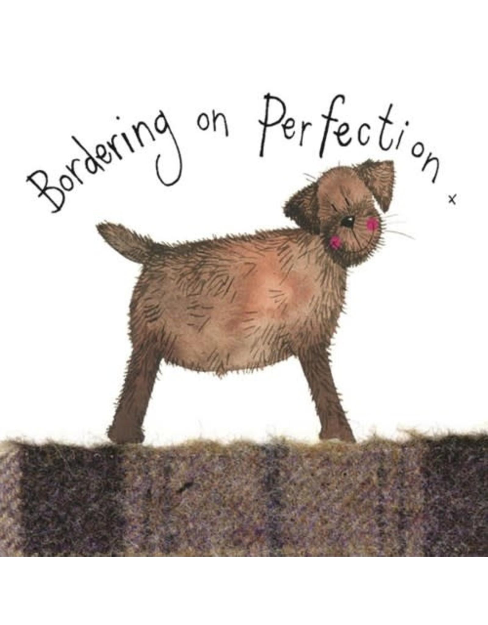 Alex Clark Art Bordering On Perfection Card