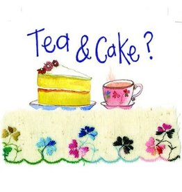 Alex Clark Art Tea & Cake Card