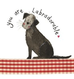 Alex Clark Art Labradorable Card