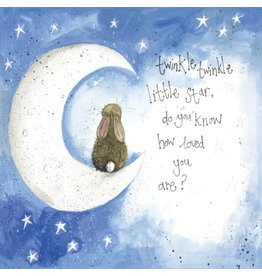 Alex Clark Art Twinkle Little Starlight Card