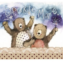 Alex Clark Art Sparkle More Card