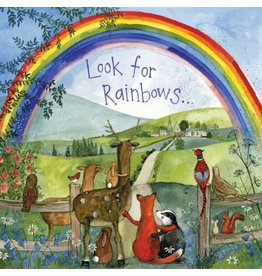 Alex Clark Art Looking for Rainbow Card