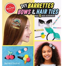 Klutz DIY Barrettes, Bows & Hair Ties