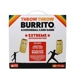 Exploding Kittens Throw Throw Burrito Extreme Outdoor Edition