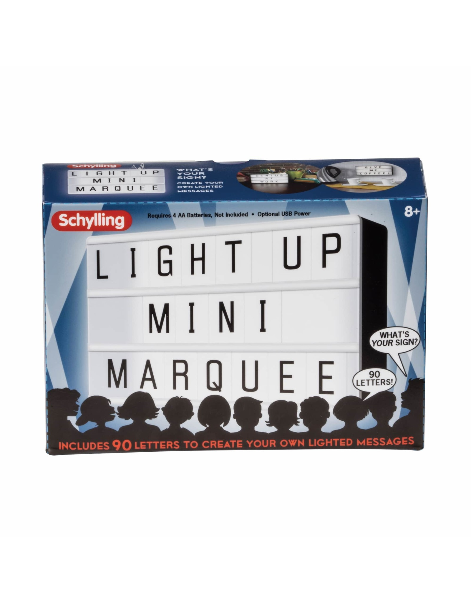 Schylling Light Up Mini Marquee