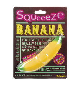 Toysmith Squeeze Banana