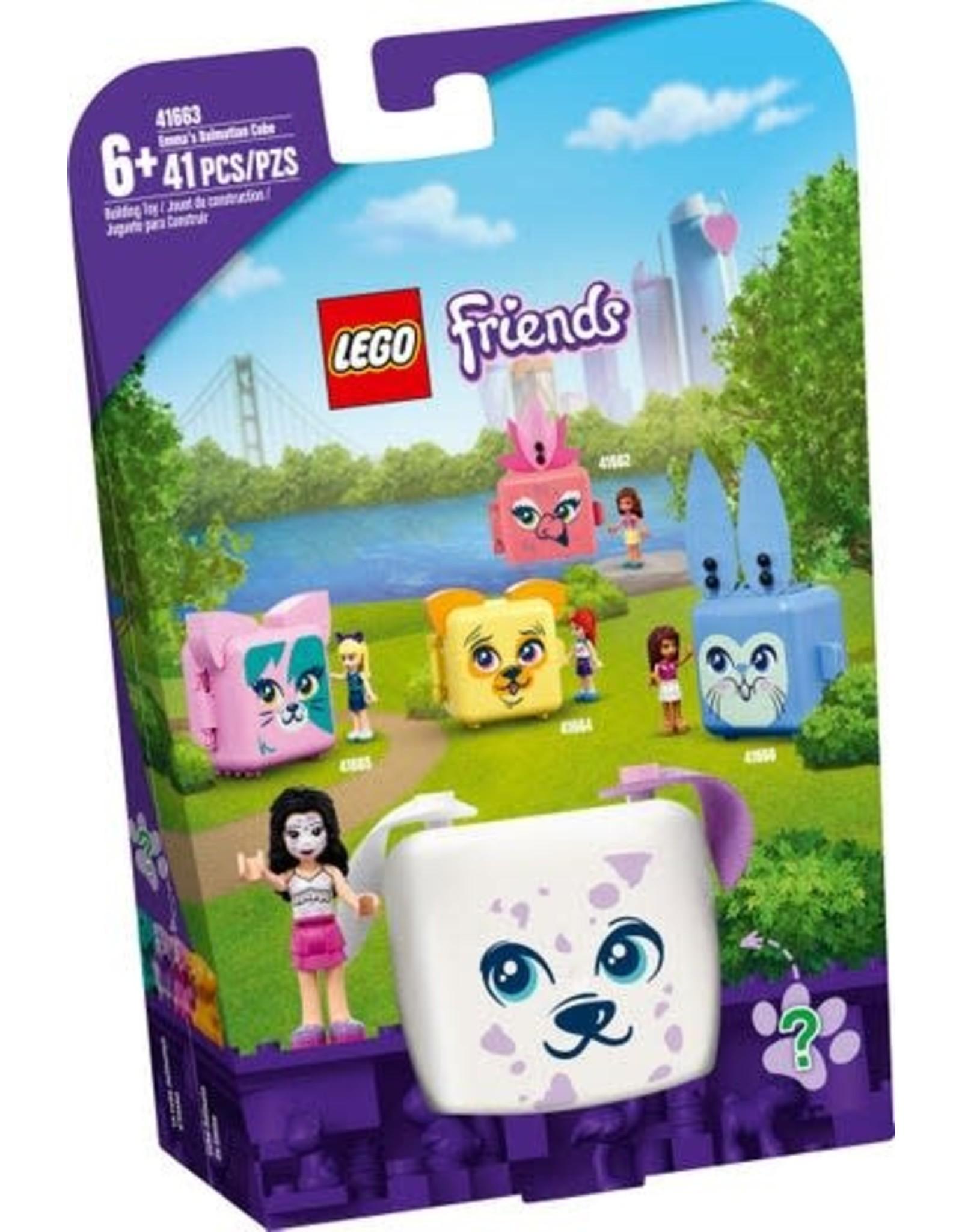 Lego Emma's Dalmatian Cube