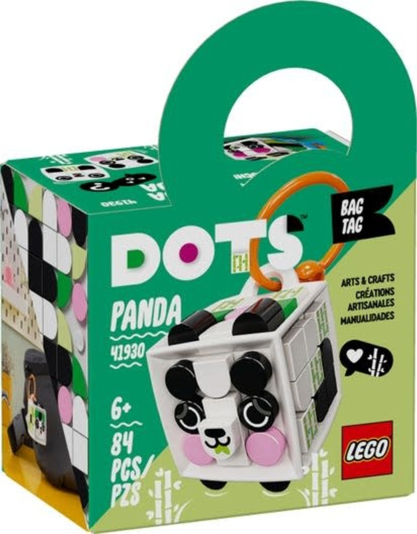Lego LEGO DOTS: Bag Tag Panda