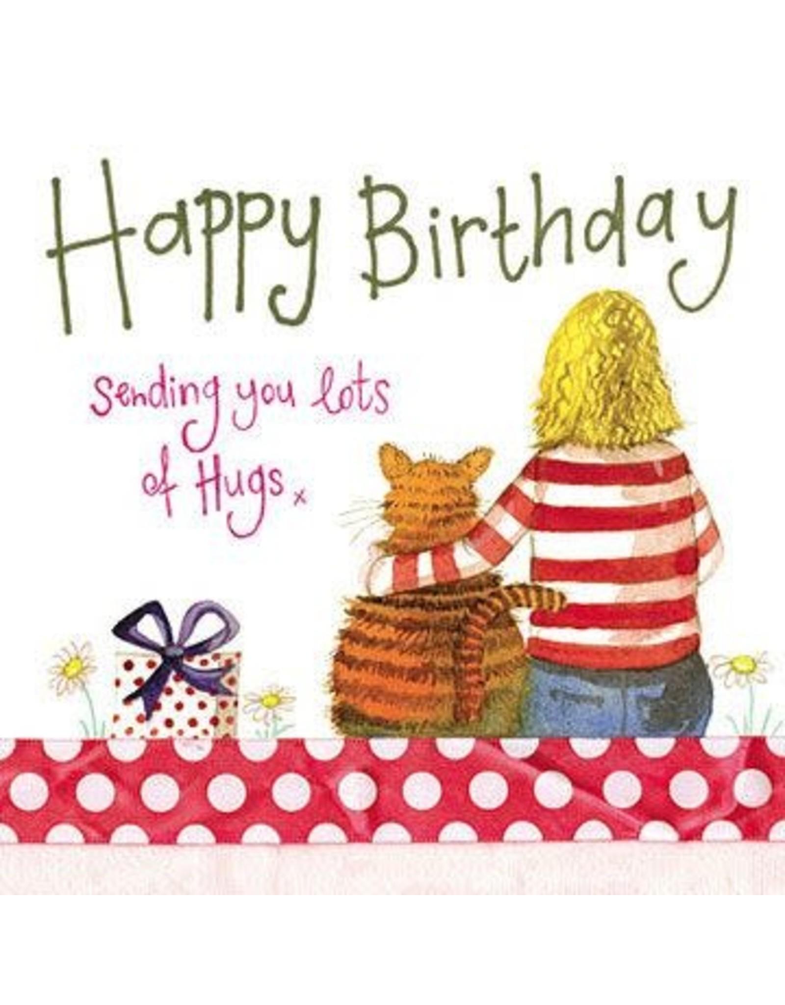 Alex Clark Art Birthday Hugs Card