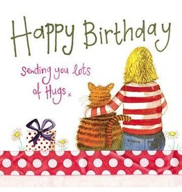 Alex Clark Art Birthday Hugs Card