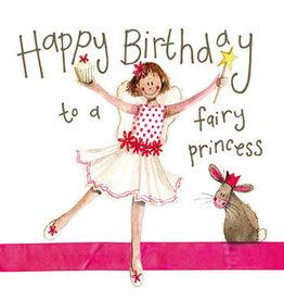 Alex Clark Art Fairy Princess Birthday Card