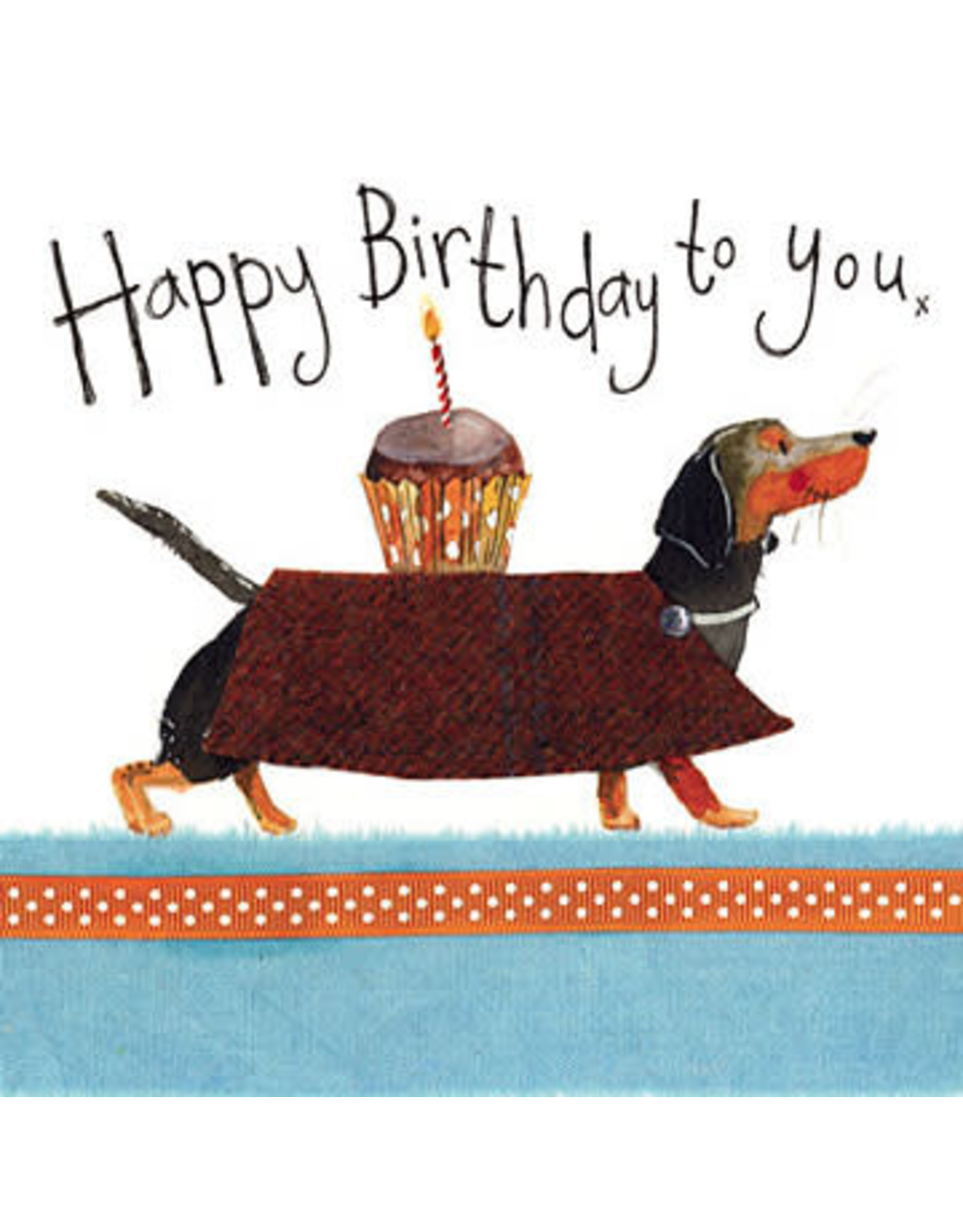 Alex Clark Art Dachshund Birthday Card