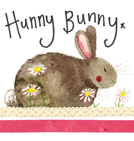 Alex Clark Art Hunny Bunny Card