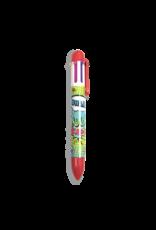 Ooly 6 Click Pen - Comic Attack Asst.