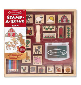 Melissa & Doug Melissa & Doug: Stamp A Scene - Farm