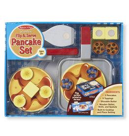 Melissa & Doug Melissa & Doug: Wooden Flip & Serve Pancake Set