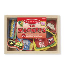 Melissa & Doug Melissa & Doug: Wooden Farm Magnets