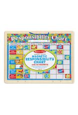 Melissa & Doug Melissa & Doug: Wooden Hinged My Magnetic Responsibility Chart