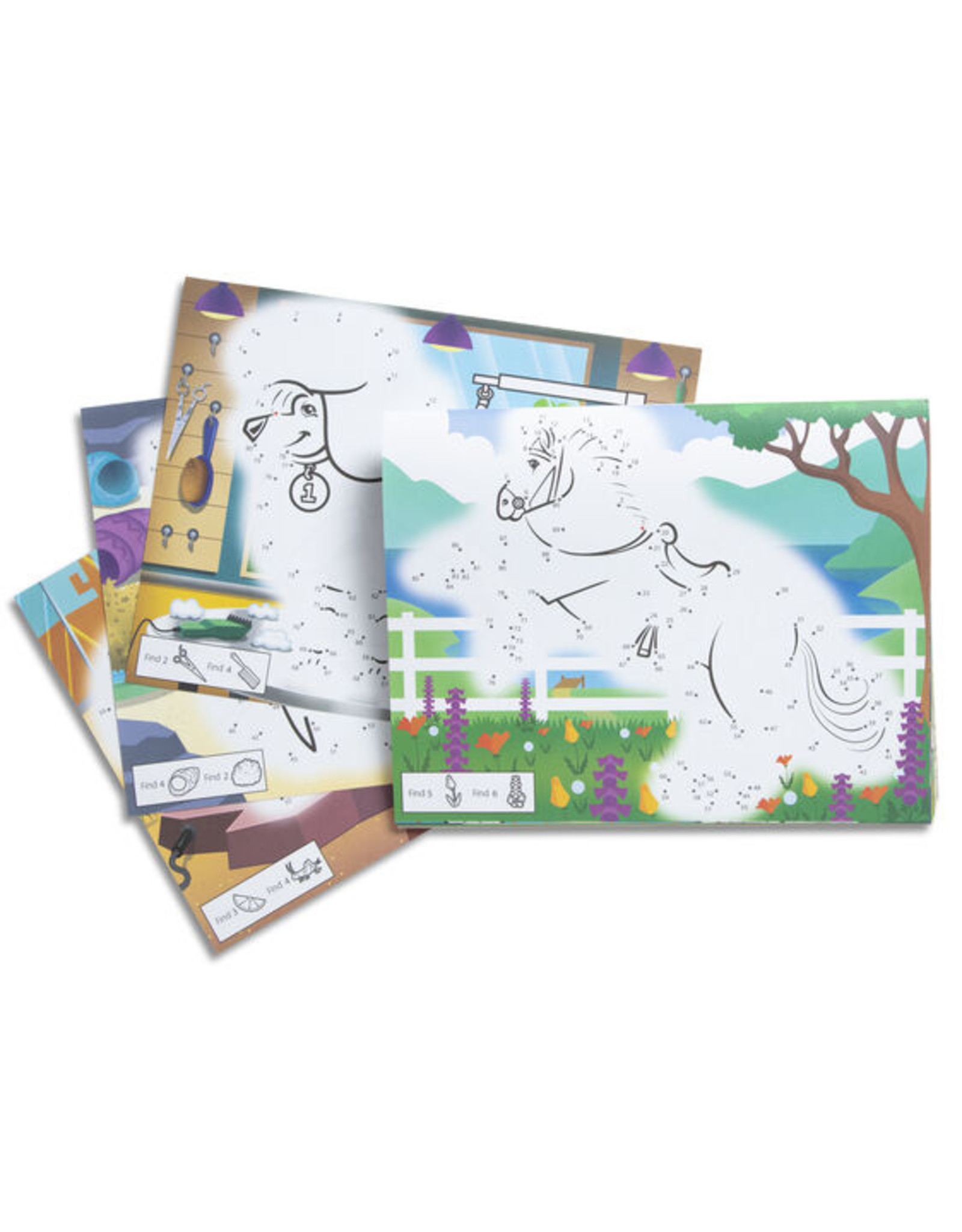 Melissa & Doug Melissa & Doug: Dot-to-Dot Colouring Pad - Pets