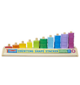 Melissa & Doug Melissa & Doug: Counting Shape Stacker