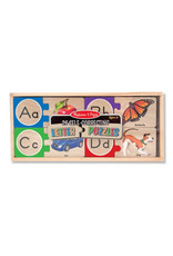 Melissa & Doug Melissa & Doug: Self Correcting English Alphabet Puzzles