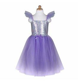 Great Pretenders Lilac Sequin Princess Dress, Size 5/6