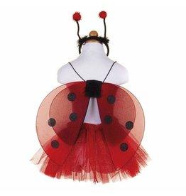 Great Pretenders Glitter Ladybug Set, Size 4/6