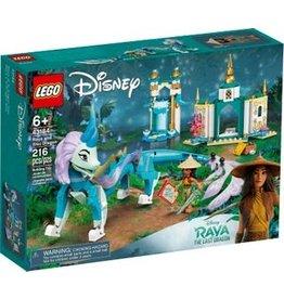 Lego Raya and Sisu Dragon