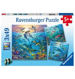 Ravensburger Ocean Life 3x49 pc