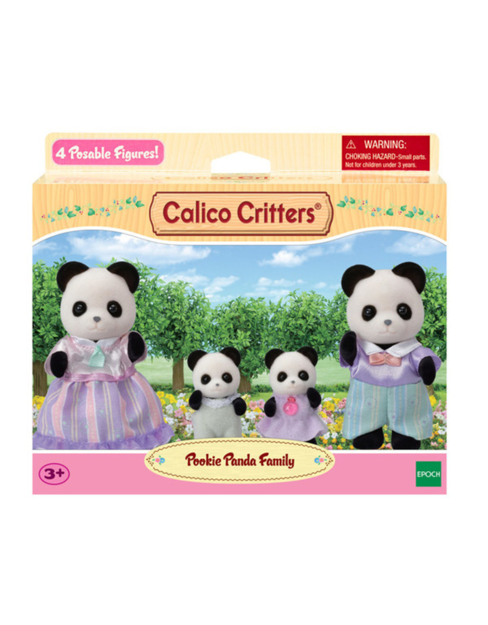 Calico Critters Calico Critters Pookie Panda Family