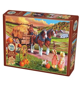 Cobble Hill Hay Wagon 275pc