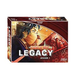 Z Man Games Pandemic Legacy - Season 1 Red