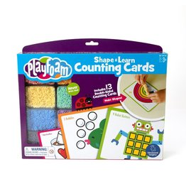 Educational Insights Playfoam Shape & Learn Counting Cards