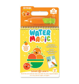 Smell and Learn Water Magic Activity Book - Orange