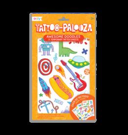 Ooly Tattoo Palooza Temporary Tattoos - Awesome Doodles