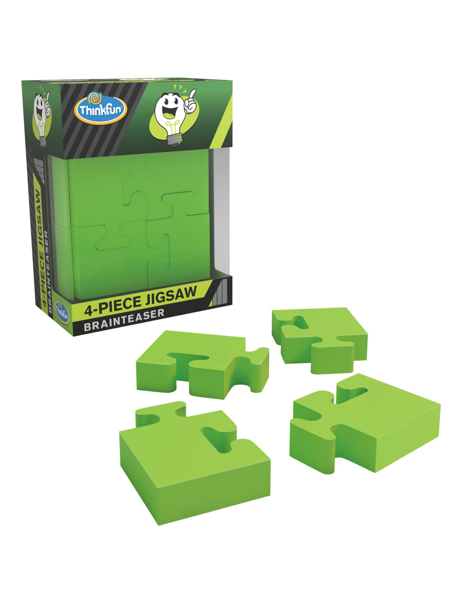 Think Fun 4-Piece Jigsaw Puzzle