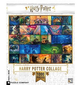 New York Puzzle Co. Harry Potter Collage 1000pc