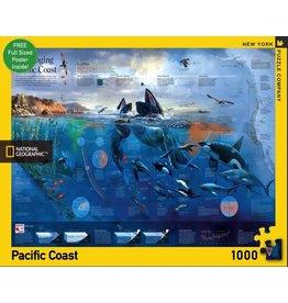 New York Puzzle Co. Pacific Coast 1000pc
