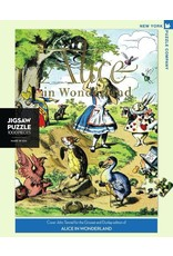 New York Puzzle Co. Alice in Wonderland 1000 pc