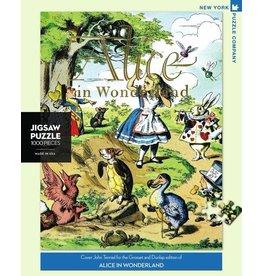 New York Puzzle Co. Alice in Wonderland 1000pc
